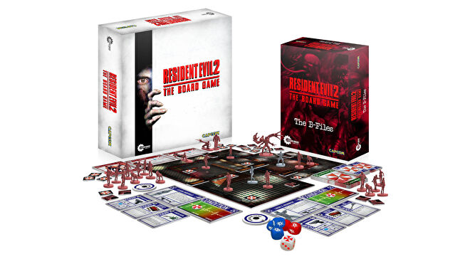 Resident Evil 2: The Board Game layout
