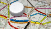 Ticket to Ride board game complete with Alexa support.
