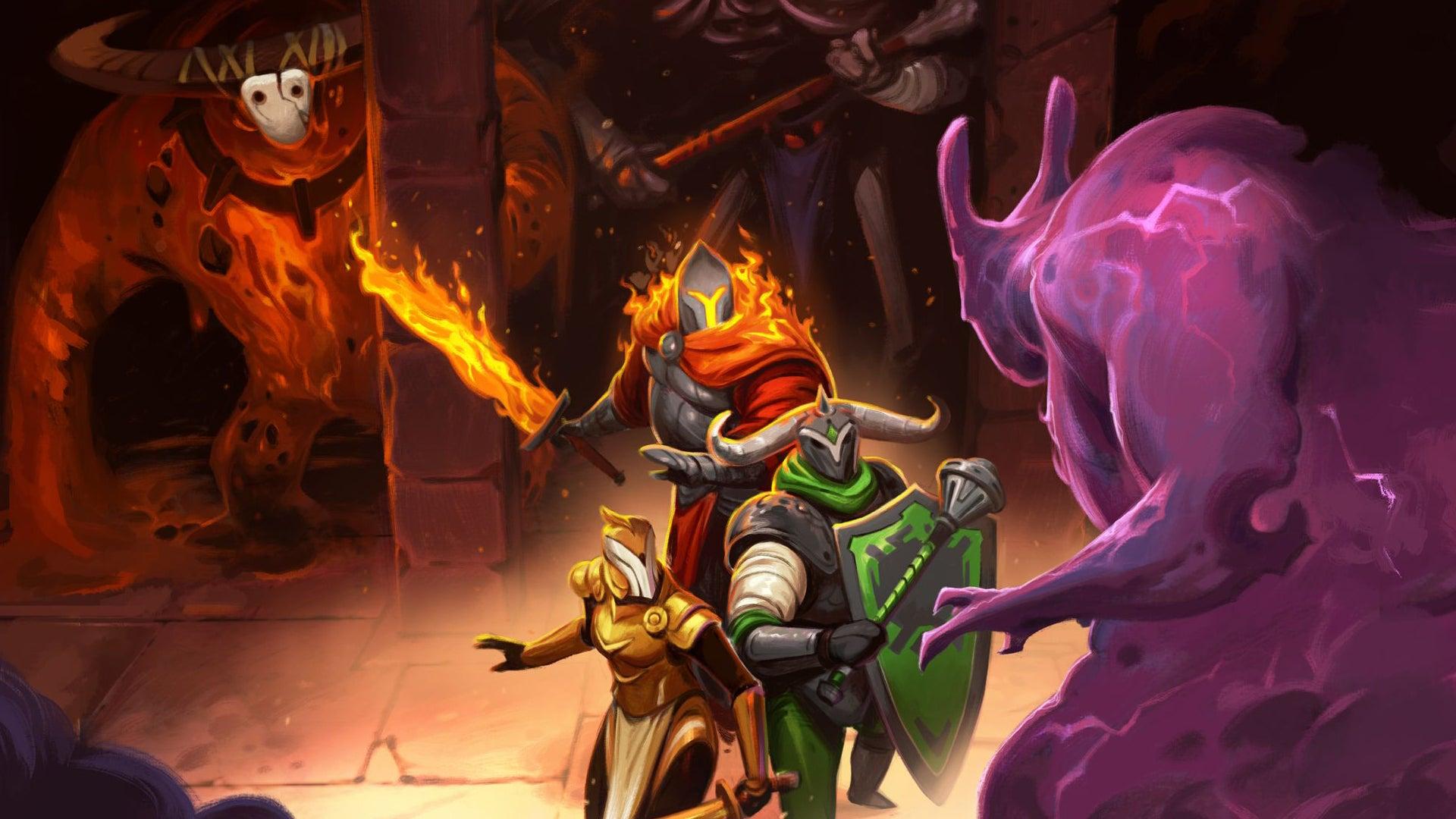 Rift Knights board game artwork