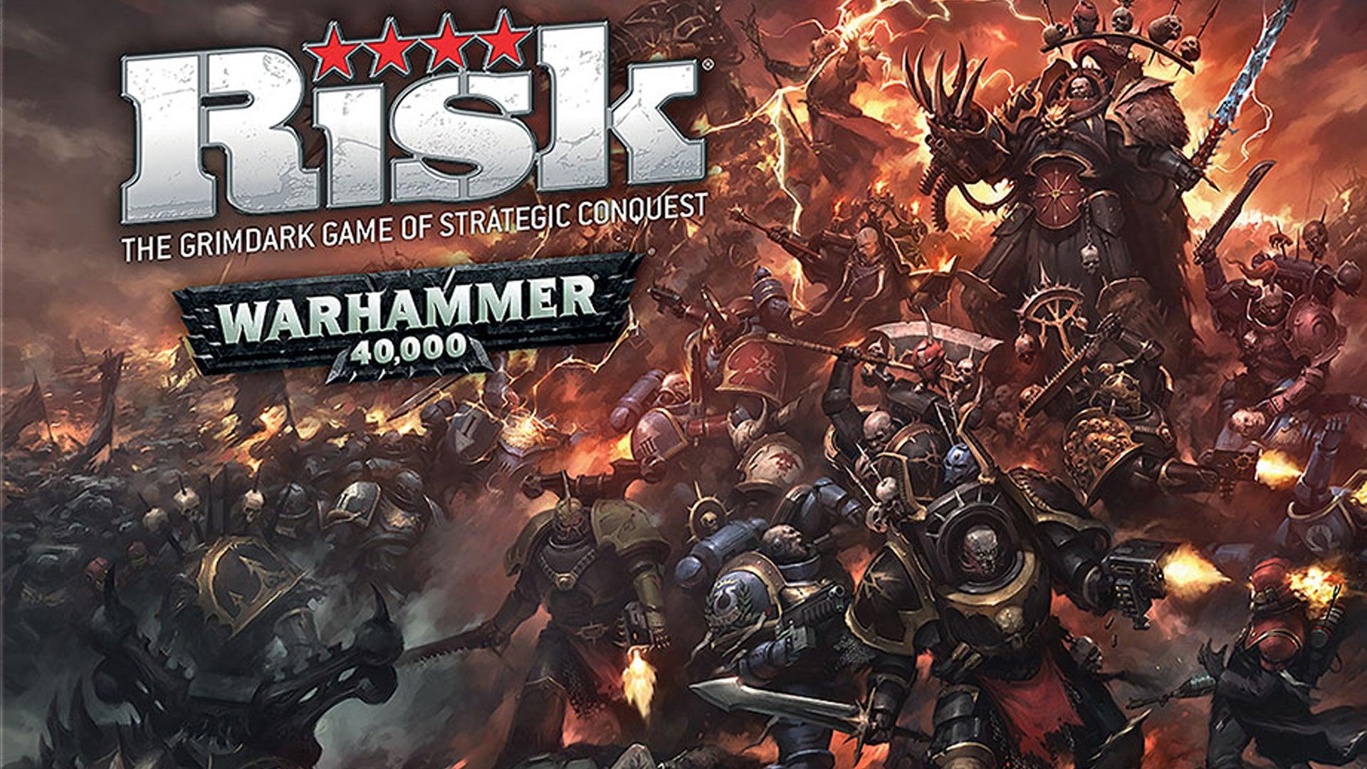 Risk: Warhammer 40,000 board game artwork