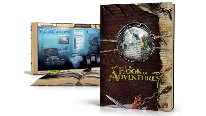 Robinson Crusoe: Book of Adventures layout