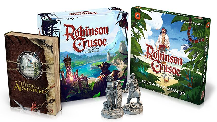 Robinson Crusoe: Collector's Edition box layout