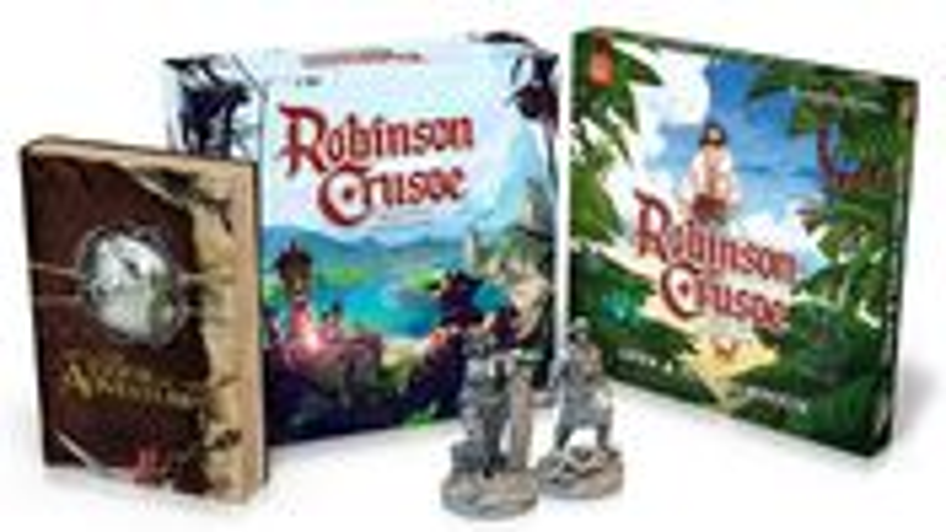 Robinson Crusoe: Collector's Edition box layout
