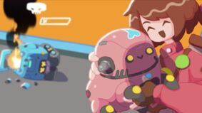 Image for Robot Quest Arena mixes incredibly cute robot violence and deckbuilding in a competitive arena