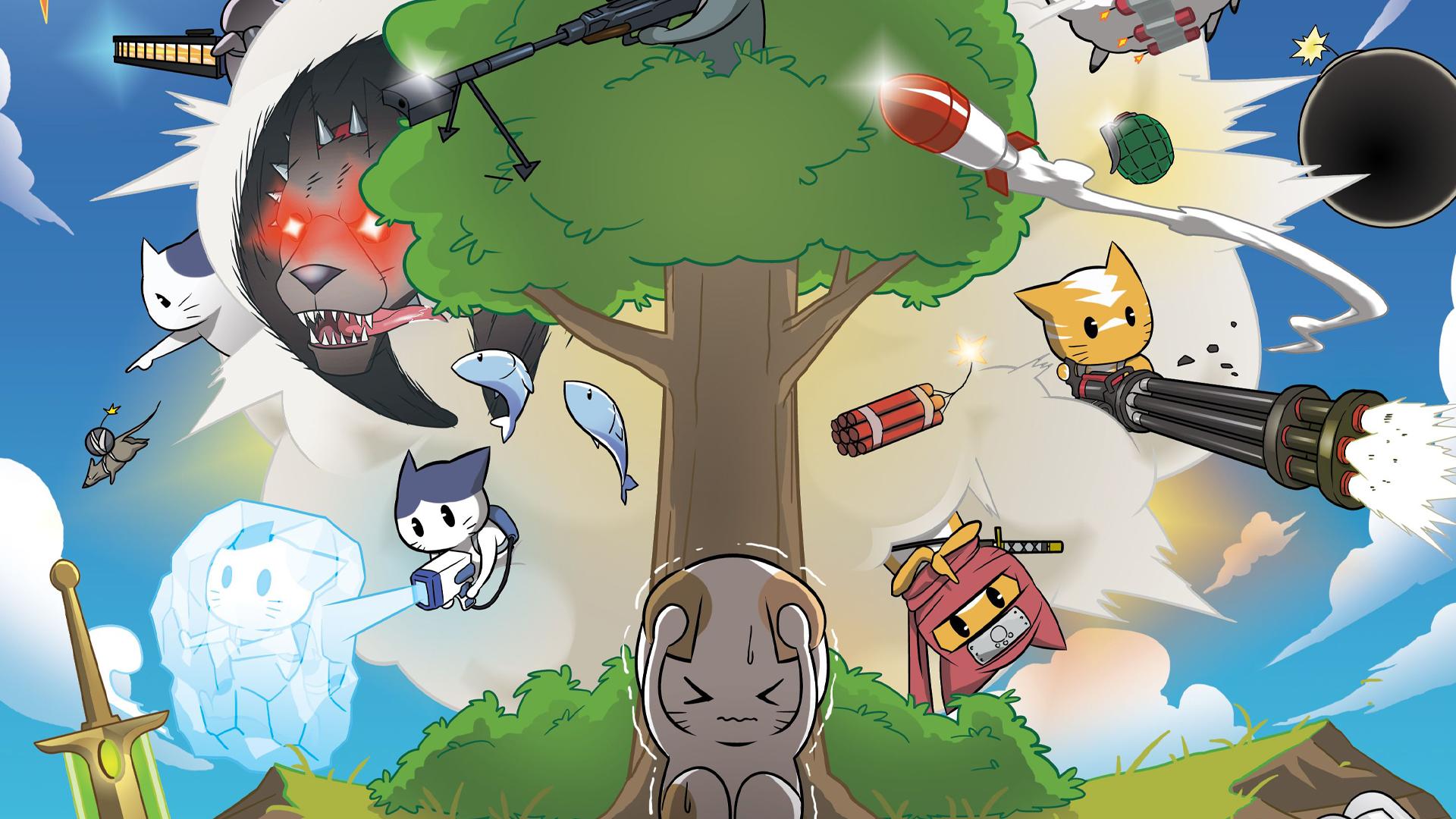Rocket Cats artwork