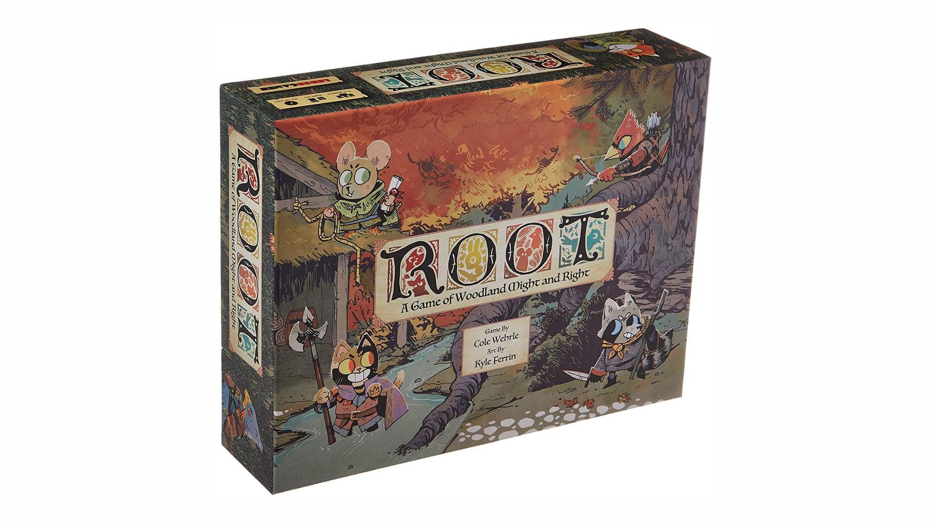 Root board game box