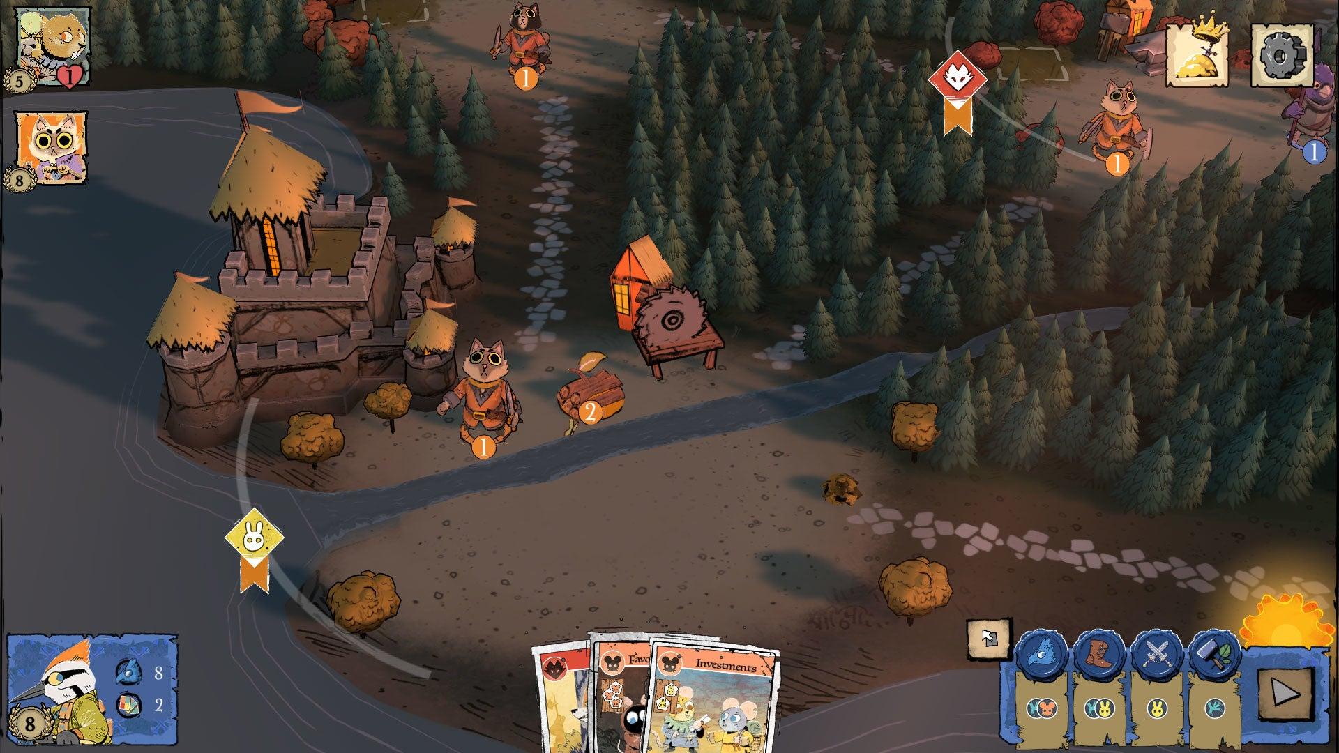 Root digital board game screenshot 4