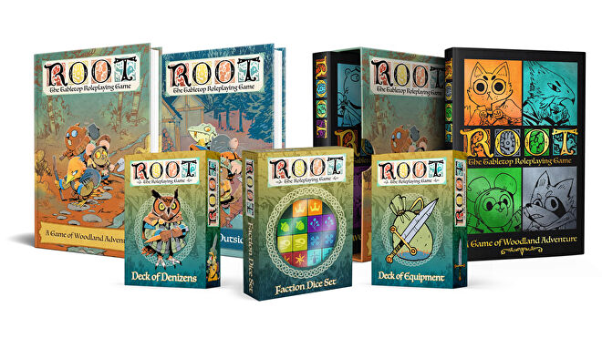Root: The Roleplaying Game products