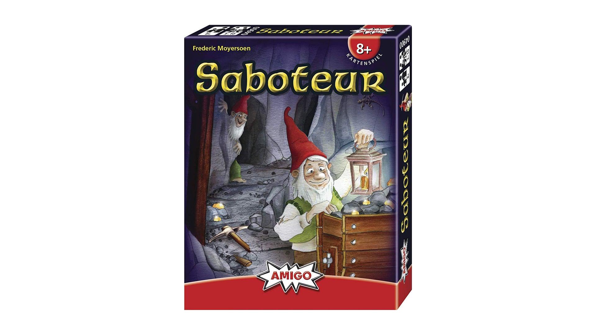 Saboteur board game box