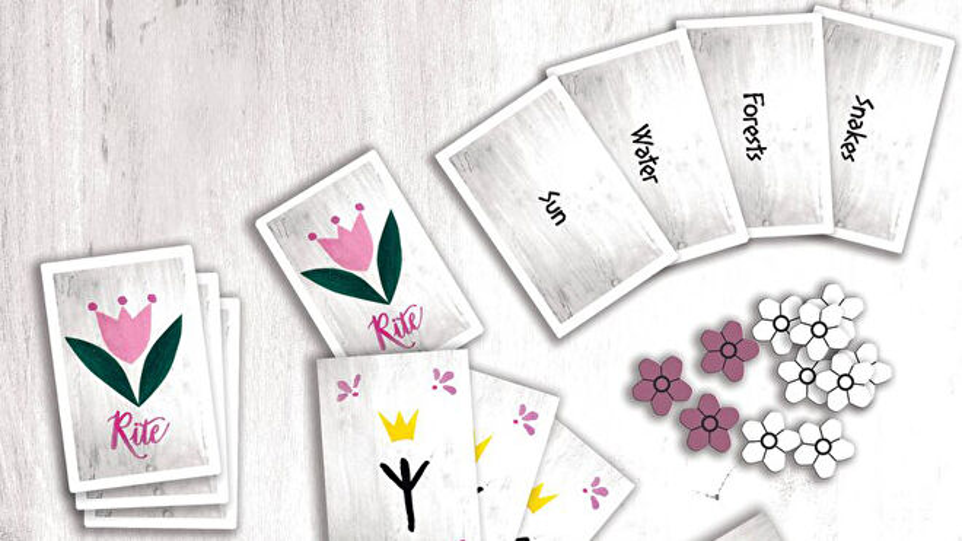 Sacred Rites Board Game Layout 2