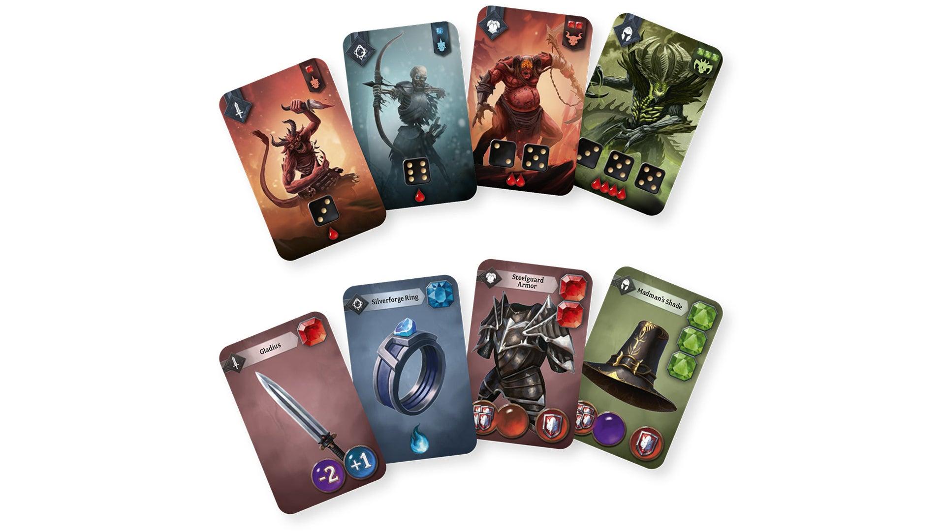 Sanctum board game cards