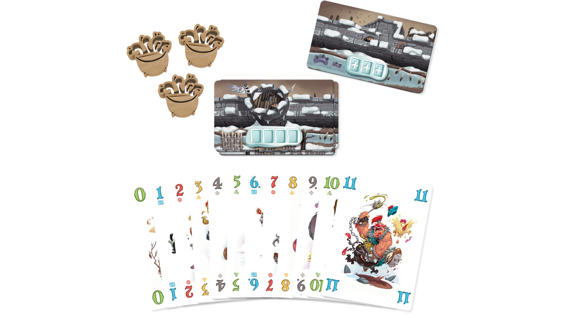 Schotten Totten 2 board game layout