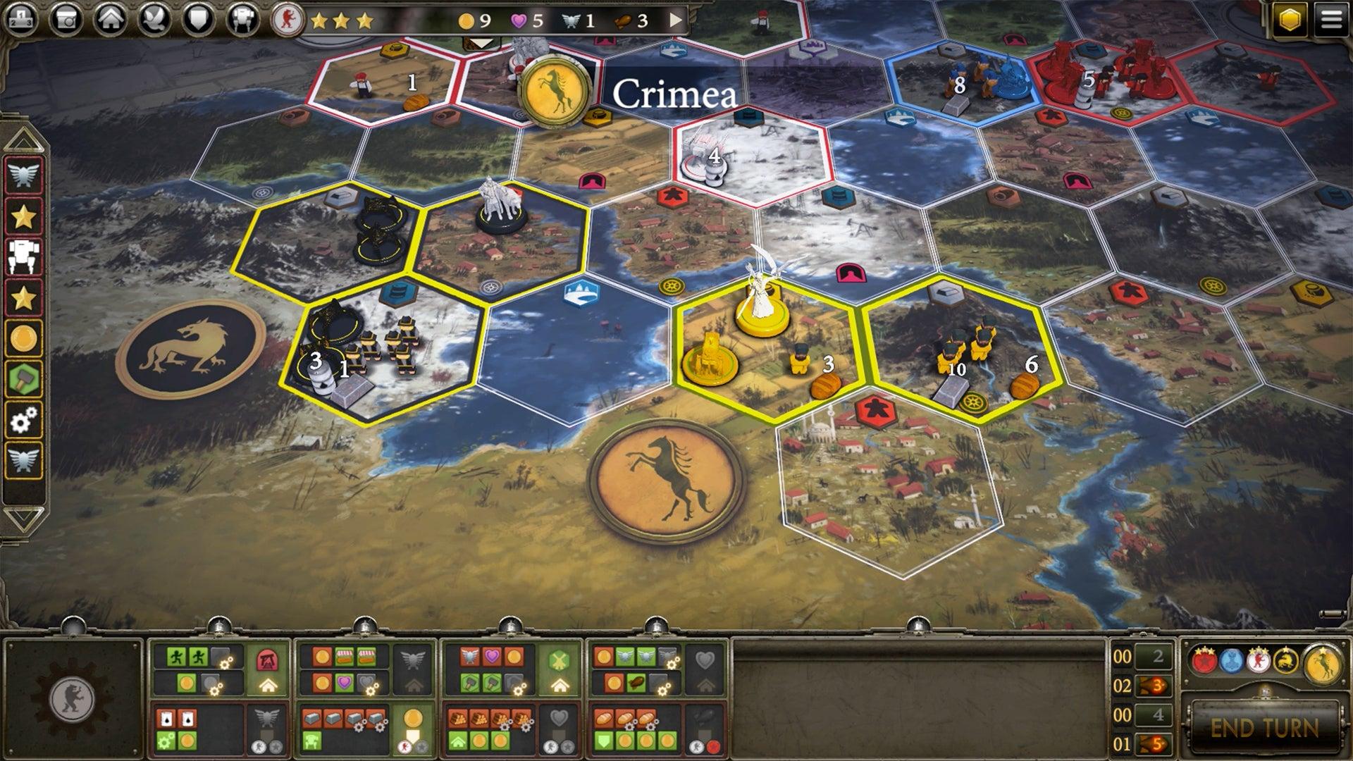 Scythe digital board game screenshot 2 steam