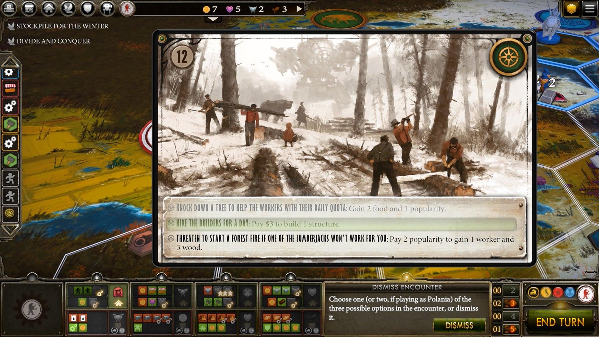 Scythe digital board game screenshot 3 steam