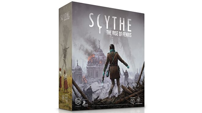 Scythe: Rise of Fenris Expansion box