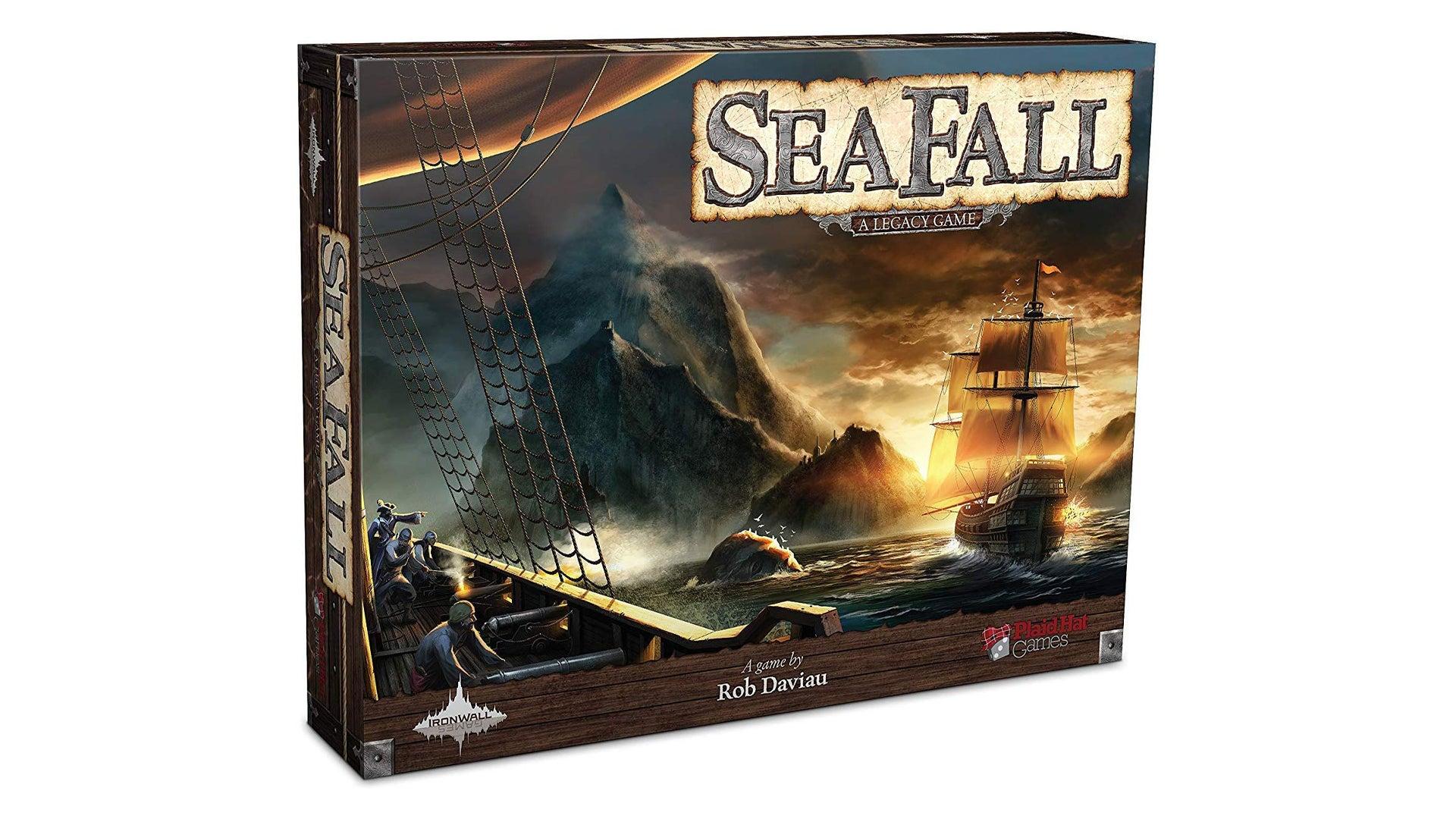 SeaFall legacy board game box