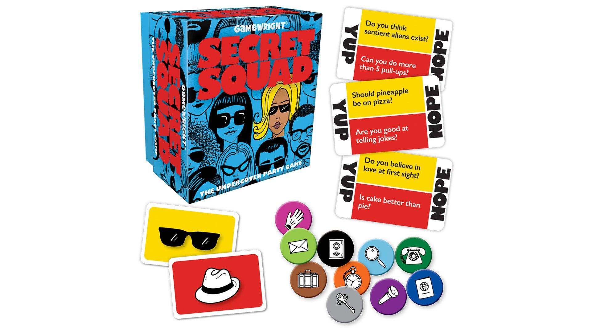 Secret Squad board game layout