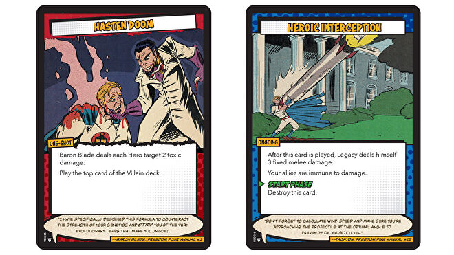 Sentinels of the Multiverse: Definitive Edition cards