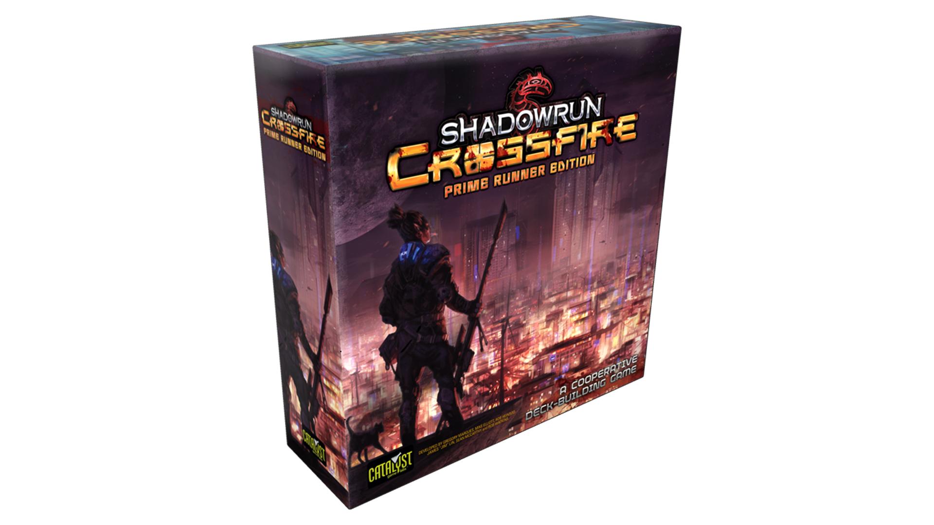 Shadowrun: Crossfire Prime Runner Edition legacy board game box