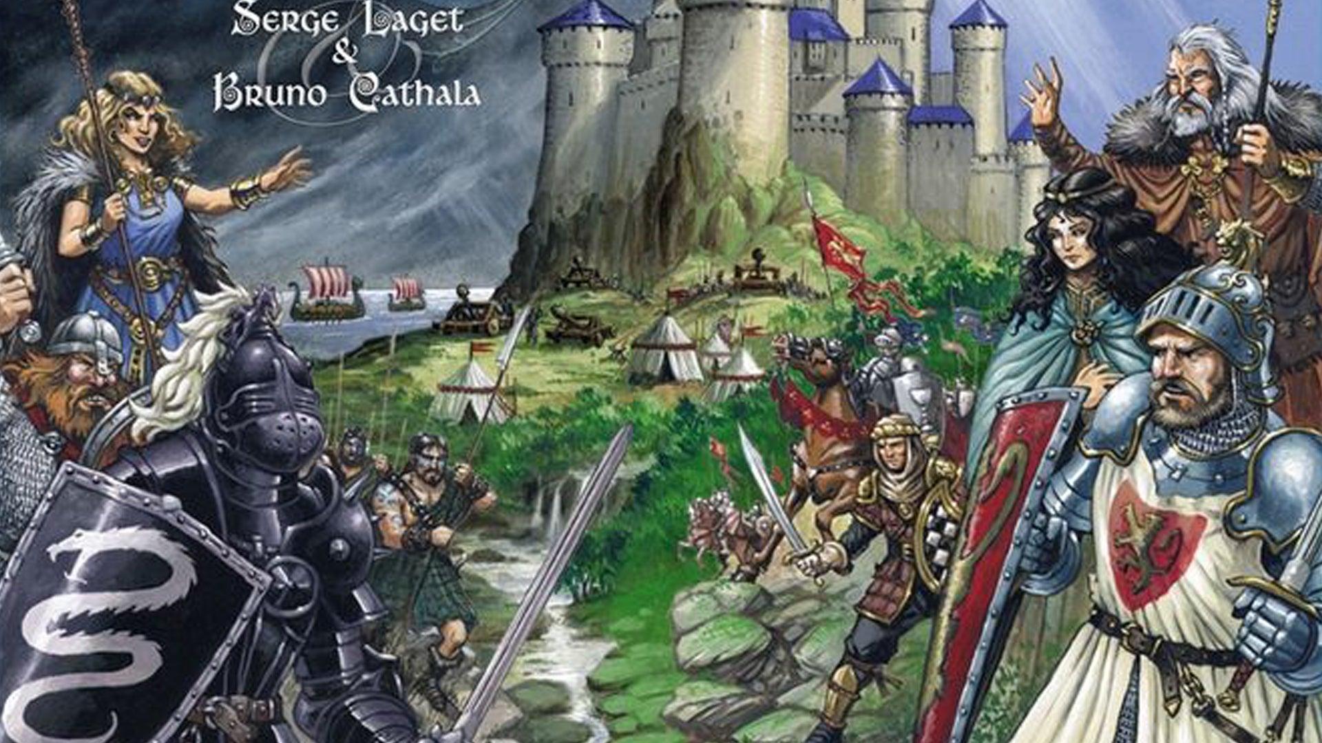 Shadows Over Camelot board game artwork