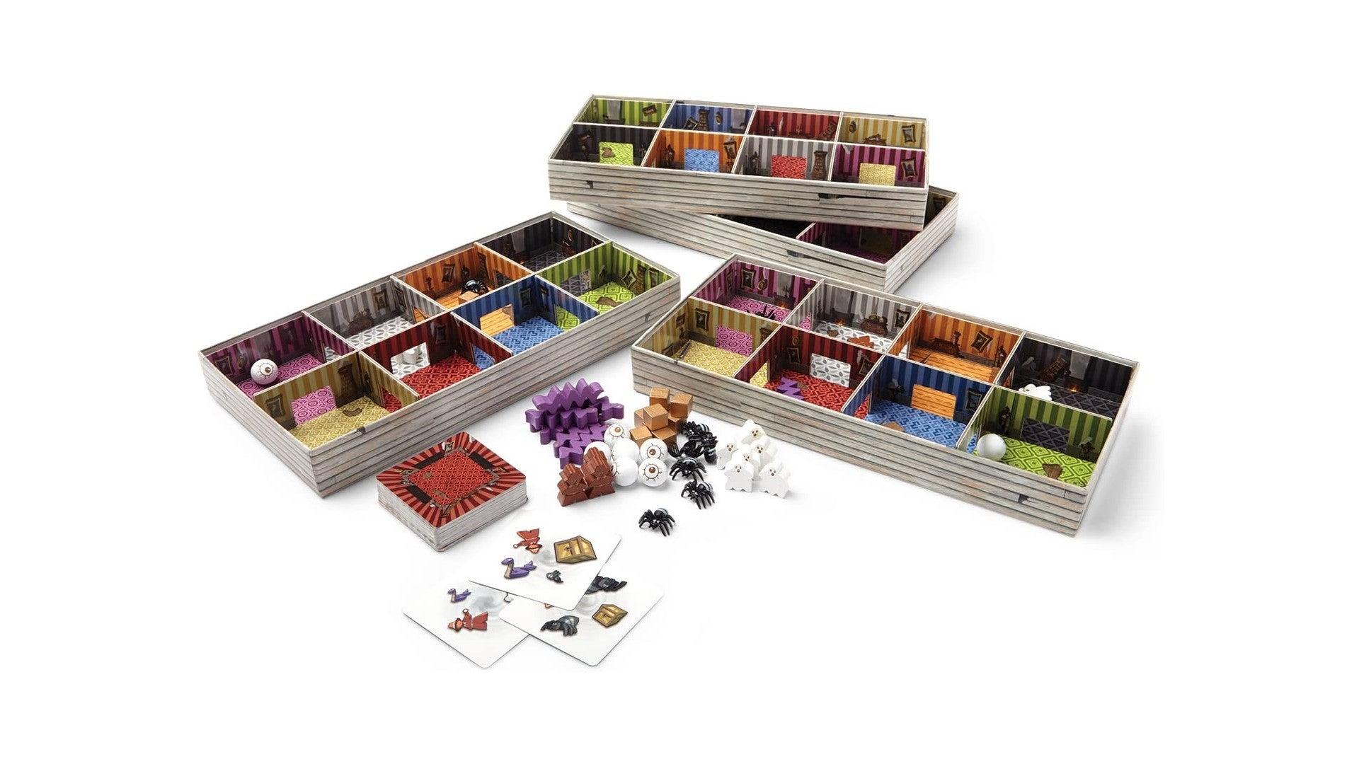 shaky manor kids board game