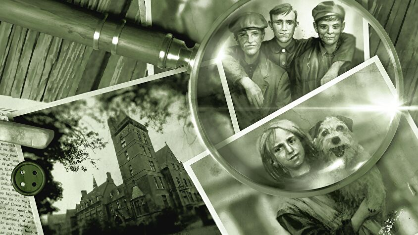 Sherlock Holmes: Baker Street Irregulars board game artwork