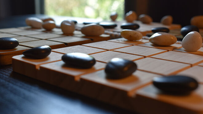 Shobu abstract strategy board game photo