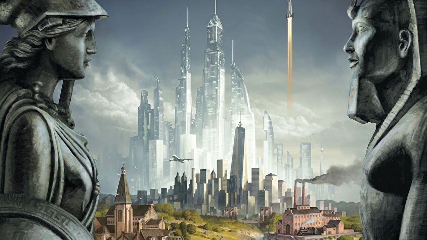 Sid Meier's Civilisation: A New Dawn board game artwork