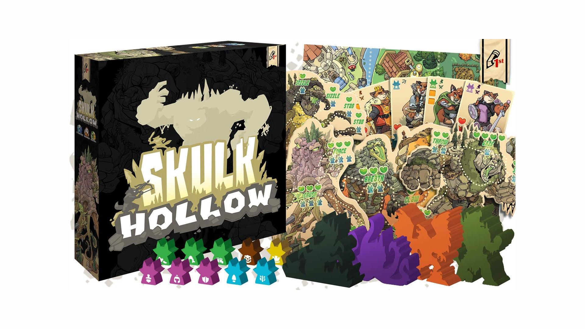 Skulk Hollow board game layout