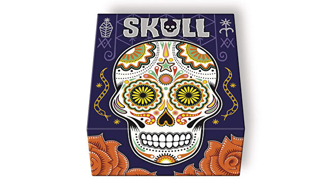 Skull party board game box