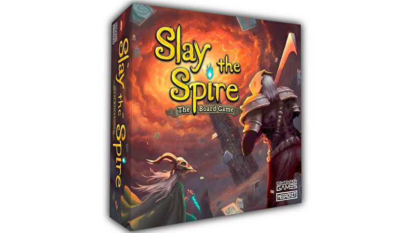 Slay the Spire: The Board Game layout