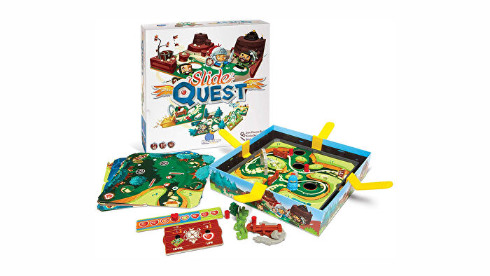Slide Quest board game layout