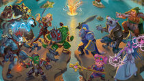 Small World of Warcraft board game artwork