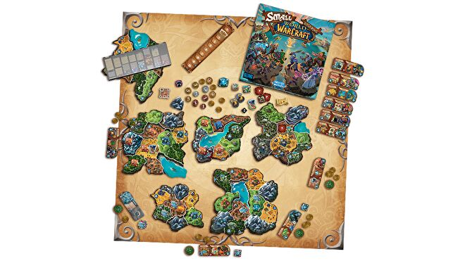 Small World of Warcraft board game layout 2