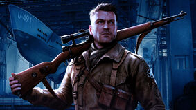 Sniper Elite: The Board Game artwork