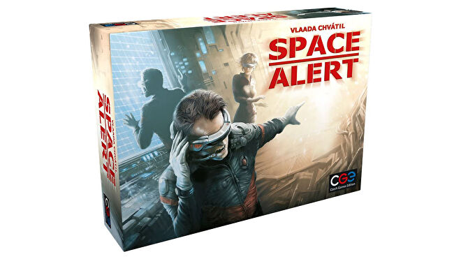 Space Alert board game box