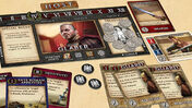Spartacus: A Game of Blood and Treachery board game layout