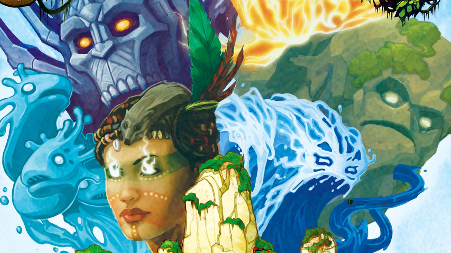 Spirit Island board game artwork