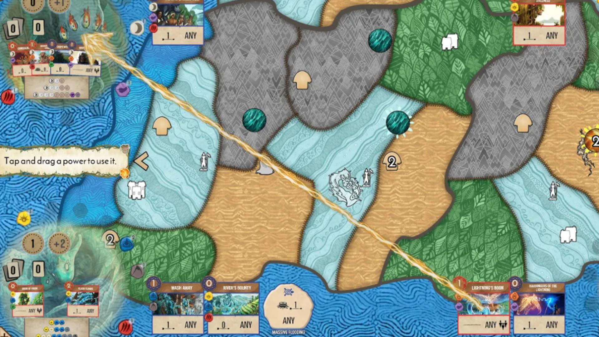 Spirit Island tablet version screenshot