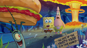 Image for Foil a Krabby Patty theft in SpongeBob Squarepants co-op board game Plankton Rising