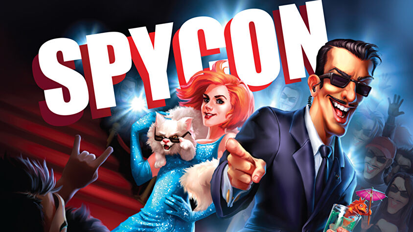 Spycon board game artwork