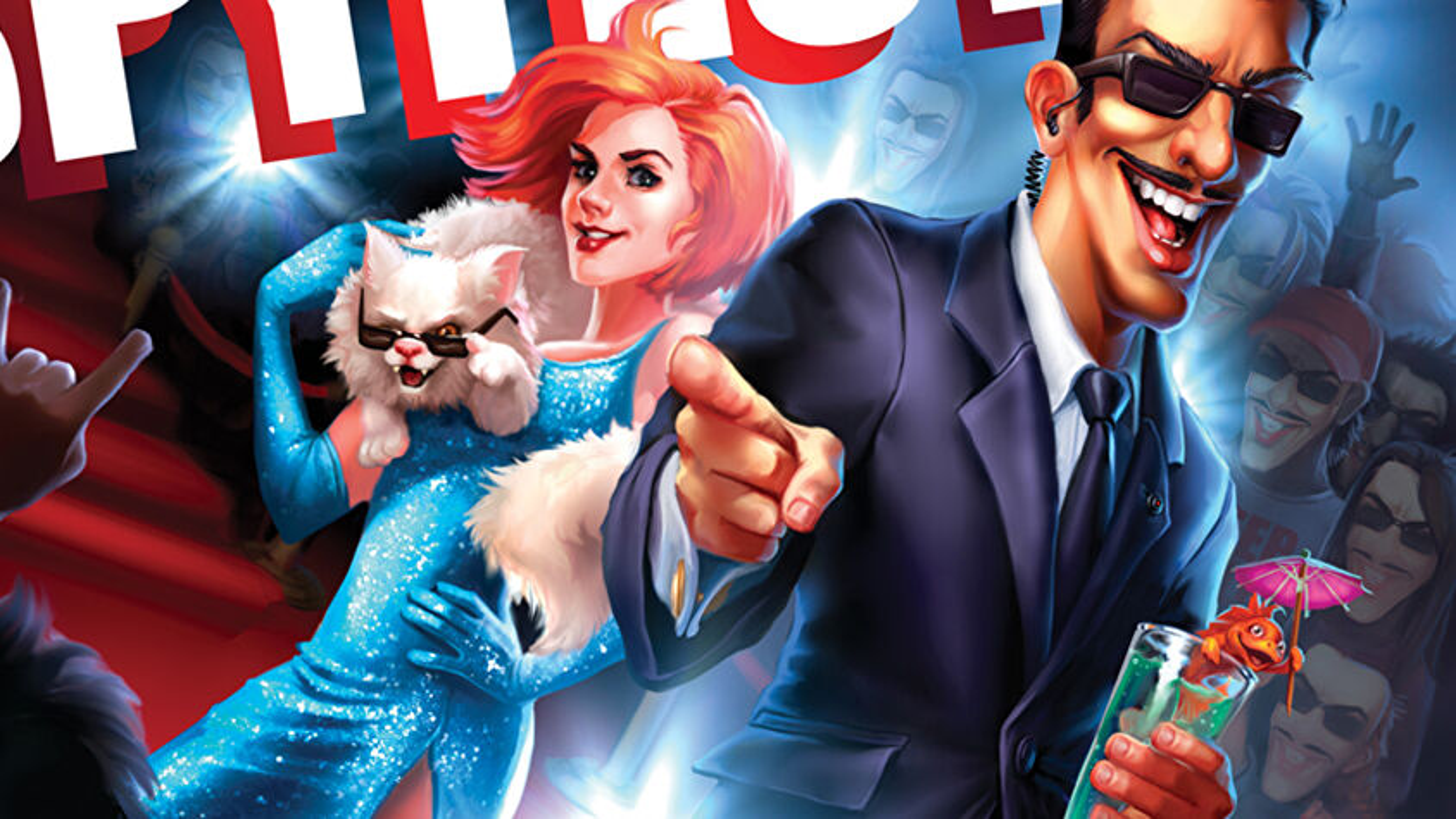 Spyfest board game artwork