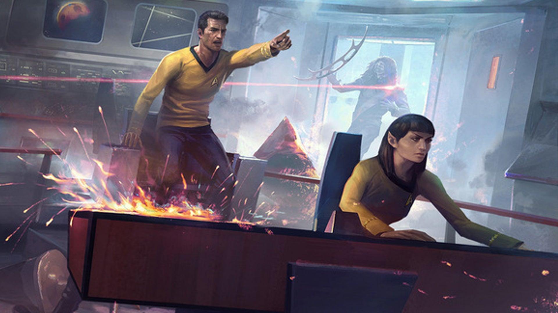 Star Trek Adventures RPG Bridge