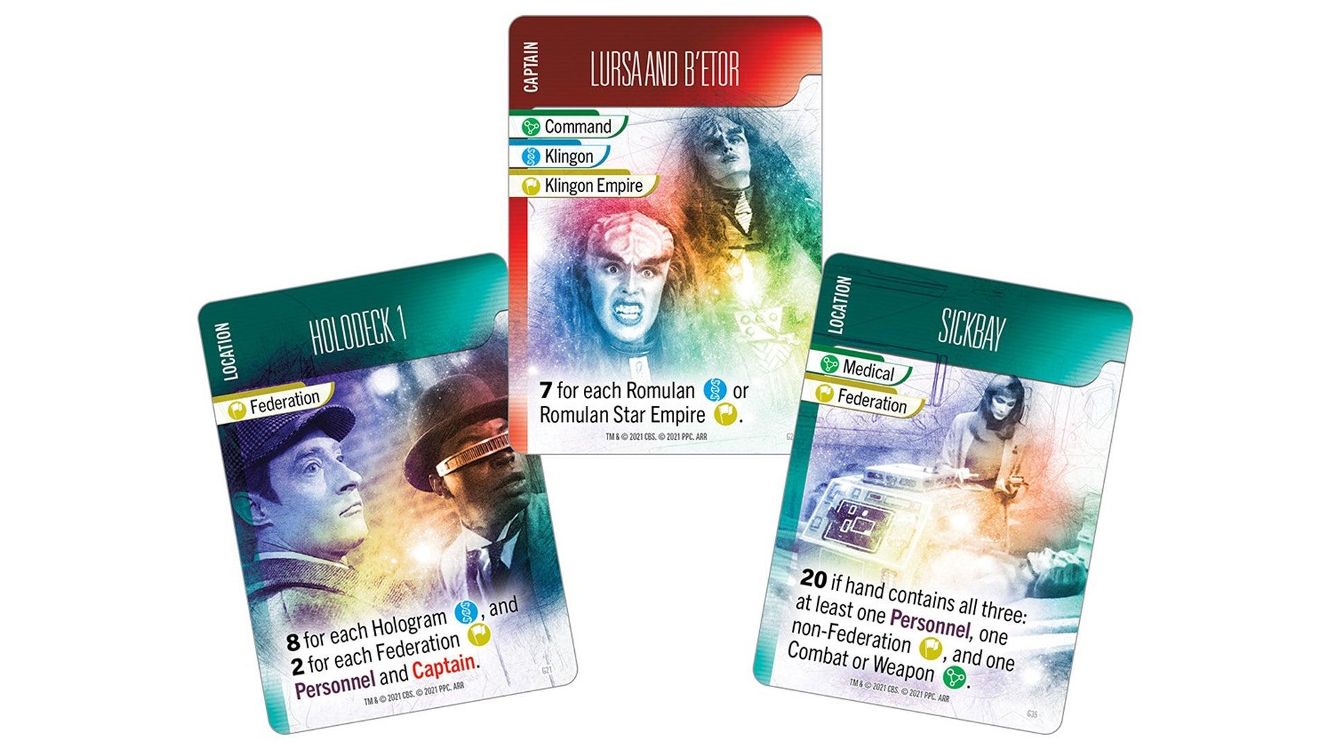 Star Trek Missions cards 2