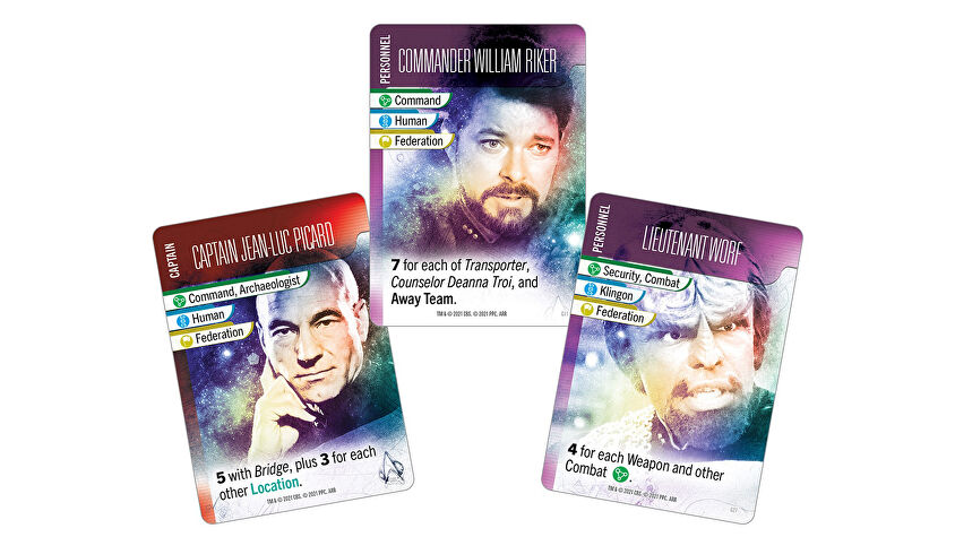 Star Trek Missions cards