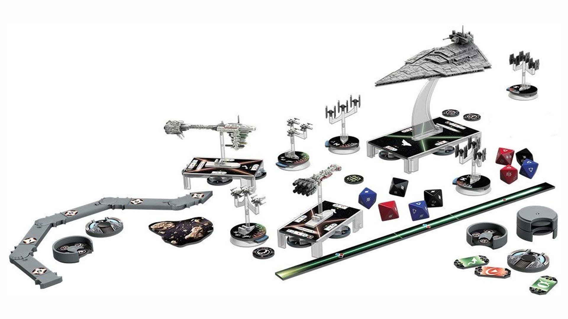 Star Wars: Armada miniatures game pieces