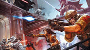 Star Wars: Imperial Assault board game artwork