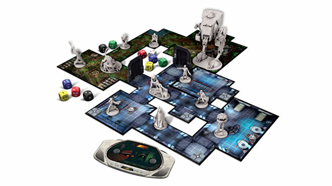 Star Wars: Imperial Assault board game miniatures