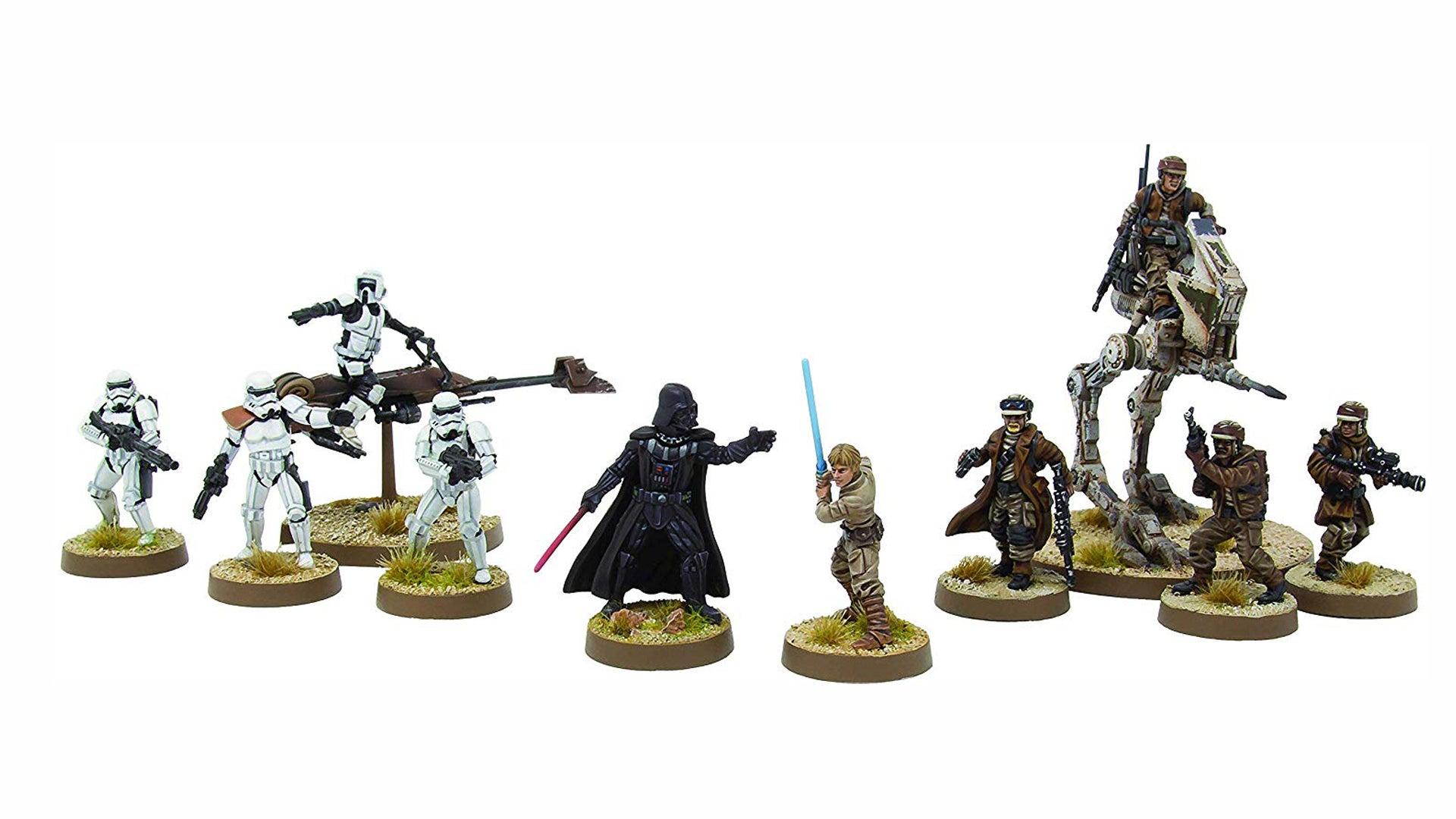 Star Wars: Legion miniatures game pieces