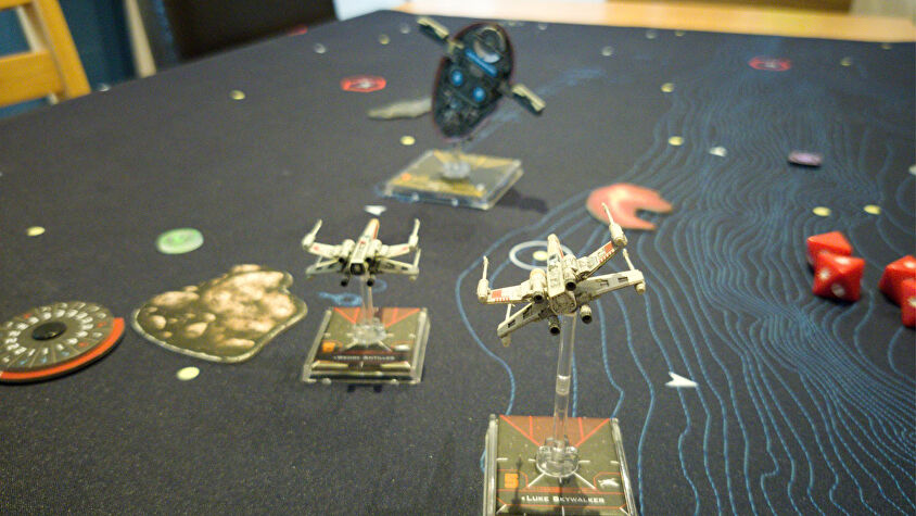 Star Wars: X-Wing Miniatures Game gameplay